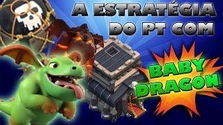 getlinkyoutube.com-PT CV9 estratégia com BABY DRAGON! Aprenda como fazer um ataque 100%!!!