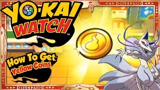 Yo-Kai Watch - How To Get Infinite Yellow Coins & RARE Frostail EASY! [Tips & Tricks]