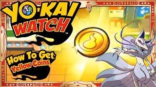 getlinkyoutube.com-Yo-Kai Watch - How To Get Infinite Yellow Coins & RARE Frostail EASY! [Tips & Tricks]