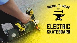 getlinkyoutube.com-DIY Electric Skateboard