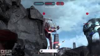 getlinkyoutube.com-Star Wars Battlefront Launch gameplay pt2 - Walker Assault (still epic!)