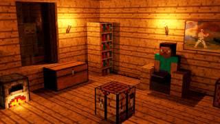 getlinkyoutube.com-A Normal Night in Minecraft