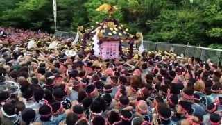 getlinkyoutube.com-Asakusa Japan 三社祭 宮出し 2015