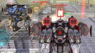 getlinkyoutube.com-War Robots Gameplay - The Perfect Teamwork Example (w/Griffin)