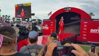 getlinkyoutube.com-2016 Daytona Coke Zero 400 Driver Intros