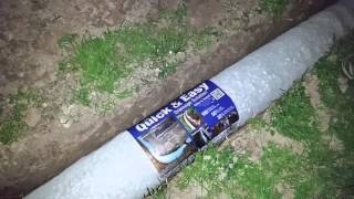 getlinkyoutube.com-NDS EZ Flow French Drain installation round 2