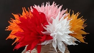 getlinkyoutube.com-How to make beautiful paper flowers / DIY Valentine's day craft