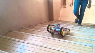 getlinkyoutube.com-A Neural Network Controlled Stair Climbing - Line Following Robot - VIT UNiversity