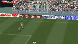 getlinkyoutube.com-(HD) Chile 3-6 Perú en FUTBOL PERUANO TURBO 98 - PSX Play Station No PS3, PES, PS2