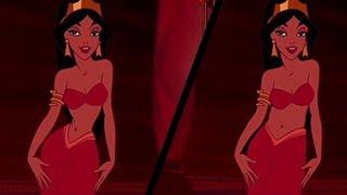 getlinkyoutube.com-Women React To Realistic Disney Princess Waistlines