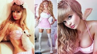 getlinkyoutube.com-New Human Barbie Angelica Kenova: Parents refuse to let her date & Claims never had cosmetic surgery