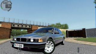 getlinkyoutube.com-City Car Driving 1.5.3 BMW 750i e38 [G27]