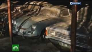 getlinkyoutube.com-На заброшенной ферме на западе Франции нашли целый автопарк коллекционных машин