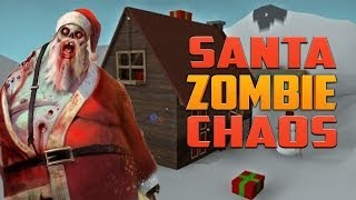 SANTA ZOMBIE CHAOS ZOMBIES MAP (Left 4 Dead 2 Zombie Game)