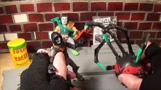 Spider Bytez & Casey Jones Toy Review - 2014 Nickelodeon - Playmates