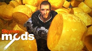 getlinkyoutube.com-Skyrim is now Cheese - Top 5 Skyrim Mods of the Week