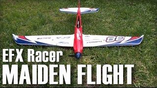 getlinkyoutube.com-EFX Racer Maiden Flight - Hobby King