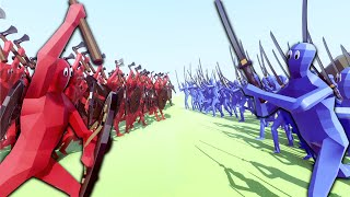 getlinkyoutube.com-VIKING vs. SAMURAI 1000 MAN BATTLE - Totally Accurate Battle Simulator (T.A.B.S.) Gameplay