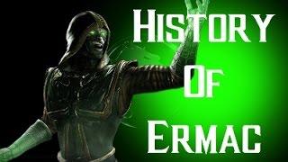 getlinkyoutube.com-History Of Ermac Mortal Kombat X