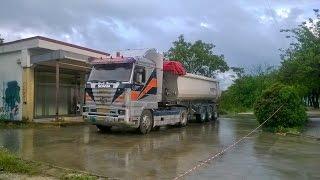 getlinkyoutube.com-Scania 143 6?? Tsoumanis straight pipe sound