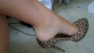 getlinkyoutube.com-cheetah HEEL DANGLE and SOLES pt. 1