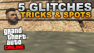 GTA 5 Glitches: 5 Glitches, Tricks, & Secret Locations on GTA 5 Online! (NEW GTA 5)