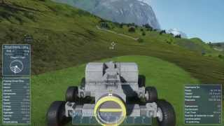 getlinkyoutube.com-Space engineers Planet survival new series (episode 3) New truck and off roading