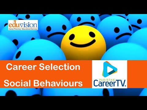 Career Selection and Social Attitude