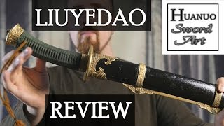 Review: Liu Ye dao (Chinese saber) by Huanuo Sword Art