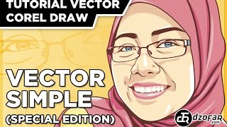 TUTORIAL VECTOR SIMPLE (SPECIAL EDITION) COREL DRAW