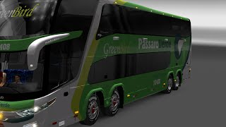 getlinkyoutube.com-[ETS2 1.20] MAPA BRAZIL EAA BUS V1.4 With Brazil Map
