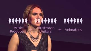 How Exploring the Feminine Turned My Wounds into Strengths | Nicole Sorochan | TEDxVictoria