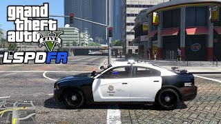 getlinkyoutube.com-GTA 5 - LSPDFR Playing As A Cop Episode #92: End of Watch/Invisible Legs