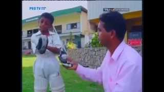 Little Sanga - Sharu - ICC 360° Cricket Show
