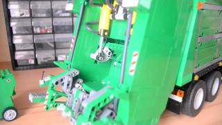 getlinkyoutube.com-lego technic camion poubelle volvo FM