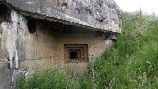 getlinkyoutube.com-WOW, i found lots of WW2 bunkers ! Part 1.