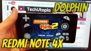Dolphin test Xiaomi Redmi Note 4X Gamecube emulator/Digimon Rumble Arena 2/snapdragon 625