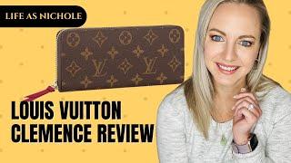 getlinkyoutube.com-Louis Vuitton Clemence Wallet Review