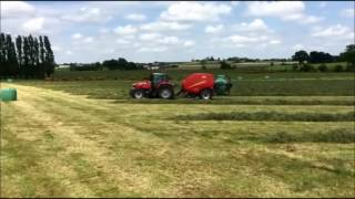 Vicon Fastbale - Added Productivity with Non-Stop Baling
