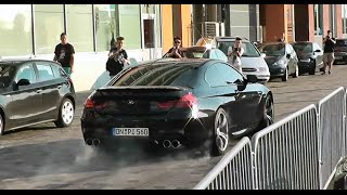 getlinkyoutube.com-BMW M6 F13 Revs, Launch Control & Wheelspin