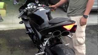 getlinkyoutube.com-2006 Yamaha R1 (STOCK VS. TOCE EXHAUST)