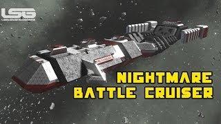 getlinkyoutube.com-Space Engineers - The Nightmare Battle Cruiser Mega Ship Prototype Part 34