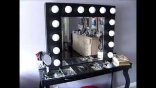 getlinkyoutube.com-DIY Hollywood-Style Vanity: Mini Tour & What I Used to Build it