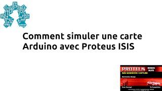 getlinkyoutube.com-Comment simuler une carte Arduino avec Proteus ISIS