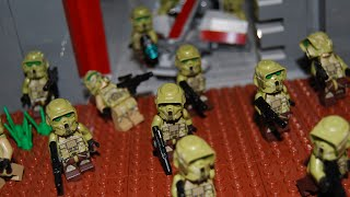 getlinkyoutube.com-Lego Star Wars Republic Military Base MOC