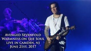 Avenged Sevenfold   Warmness On The Soul (Live In Camden, NJ 6/21/17)