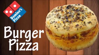 getlinkyoutube.com-Now make Burger Pizza like Domino's at home !!! Simply Yummylicious..