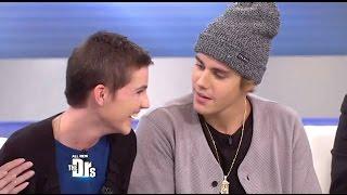 getlinkyoutube.com-Justin Bieber Surprise Visit For A Young Burn Victim On (The Drs Show)