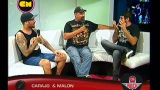getlinkyoutube.com-Carajo y Malón - Entrevista CM Rock