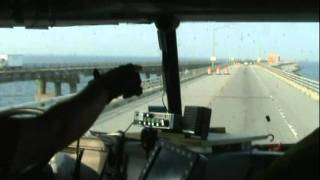 getlinkyoutube.com-Big Rig trip over The Chesapeake Bay Bridge-Tunnel